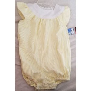 Locally sewn romper baby girl 6-12 month